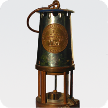 Miners Flame Safety Lamp
