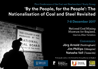 By the People, for the People: The Nationalisation of Coal and Steel Revisited