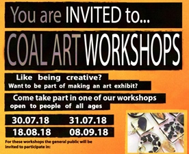 Coal Arts Workshops – Digging Deeper Project