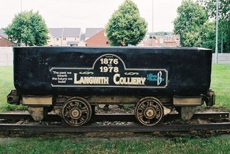 Langwith Colliery: 40th anniversary of closure.