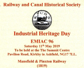 Industrial Heritage Day: EMIAC 96 – Saturday 11th May 2019