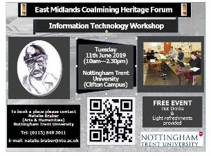 Promoting your Coalmining Heritage using Social Media: Free IT Workshop