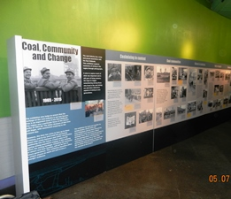 Exhibition: Coal, Community & Change (1965-2015) – Conkers Discovery Centre