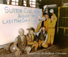 Sutton Colliery – Thirtieth anniversary of closure