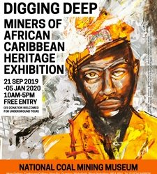 Digging Deep: Miners of African Caribbean Heritage Exhibition