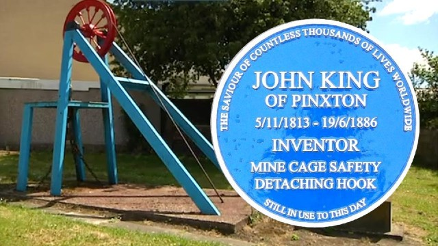 John King Memorial at Pinxton