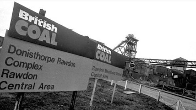 End of Deep Coal mining in South Derbyshire – 30 years on