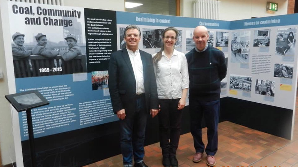 Coal, Community and Change Exhibition Team